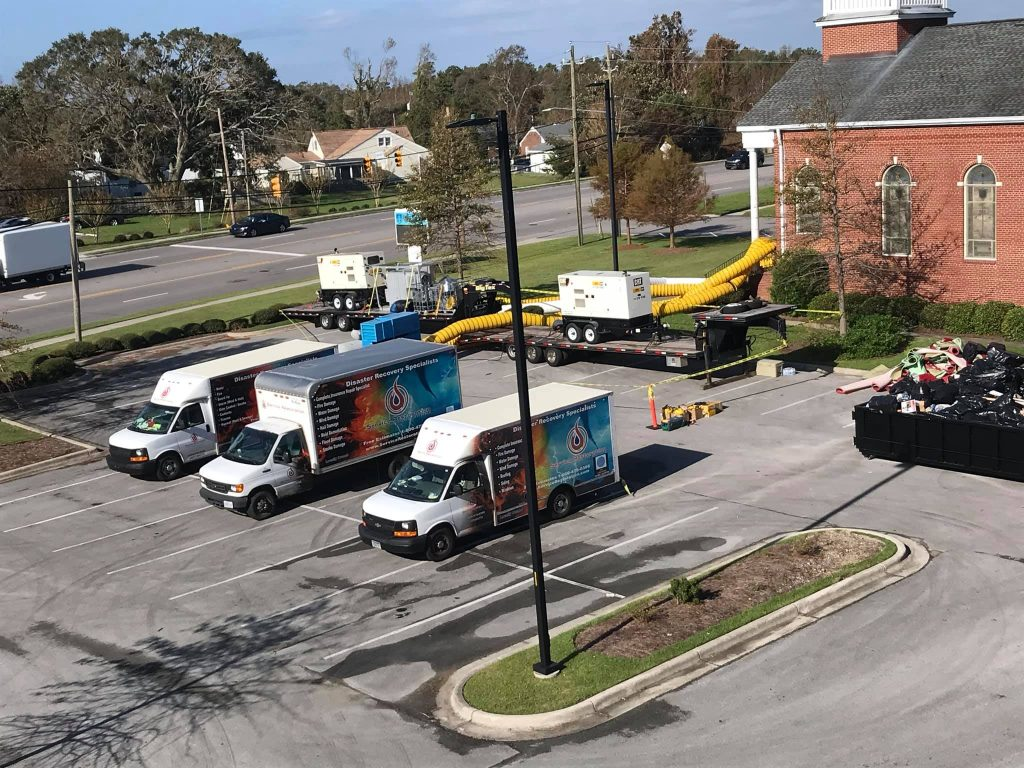 Jacksonville flood cleanup services