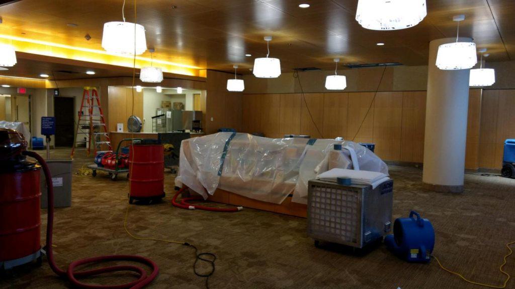 Burlington IA water damage cleanup