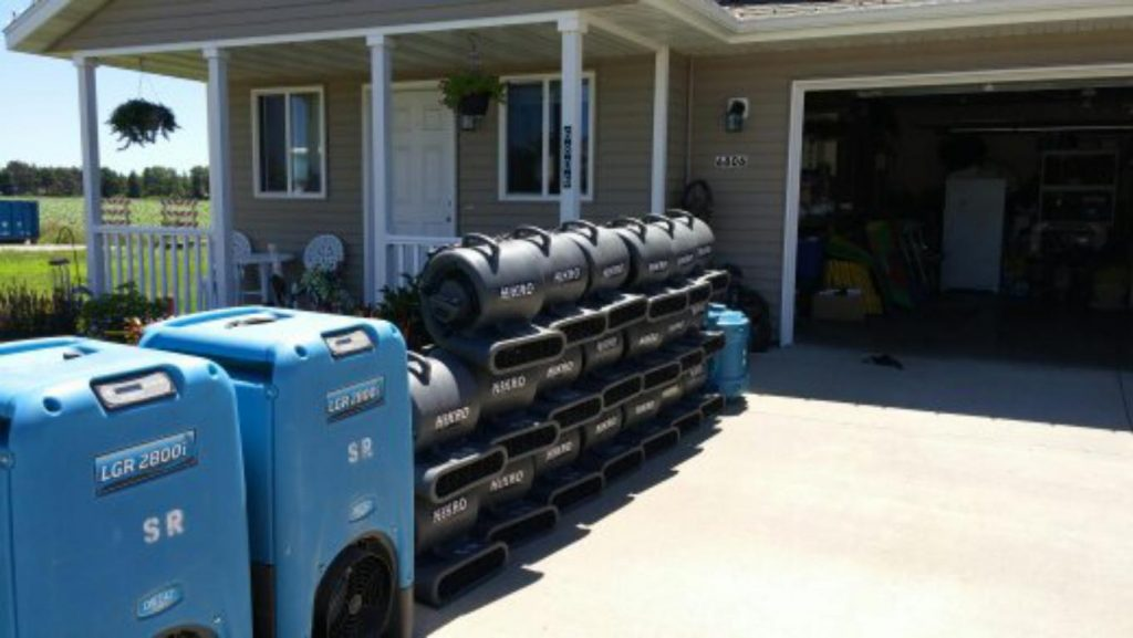Woodbury MN water damage restoration