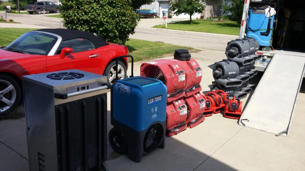 Council Bluffs IA water damage cleanup